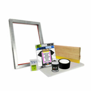 Diy Bare Bones Kit With Blank Screen Printing Starter Beginner 00 1