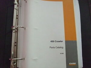 Case 450 Crawler Tractor Dozer Parts Manual Factory Oem Original