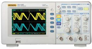 New Rigol Digital Oscilloscope 100mhz Ds1102e 1 Gsa s 1mpts 3 Years Warranty