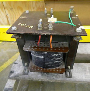 Romarsh Ulc2000 6 12582 Transformer 2kva 2 Kva High 460v Low 115v Volt 50 60hz