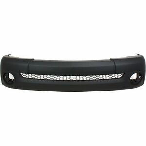 Front Bumper Cover For 2003 2006 Toyota Tundra Base Model Primed Capa