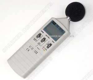 Tes 1350a Sound Level Meter noise Tester 35 130db new