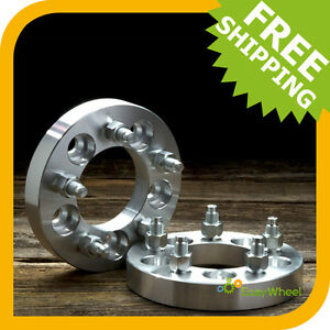 2 Ford Ranger Wheel Spacers Adapters 5x4 5 1 Inch 2wd 4wd Edge Sport Xlt