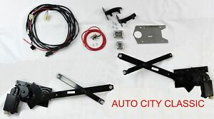 1955 1956 1957 Chevy Nomad Power Window Glass Kit Original Gm Style