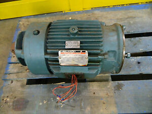 Reliance 1yr609760a1 2hp 2 Hp Dual Speed Electric Motor 460v 870 1740 Rpm