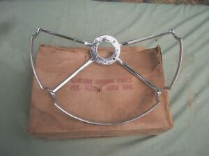 1957 Mercury Steering Wheel Horn Ring Fek 3624 A Nice Nos Part Read Ad