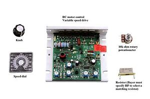 Dc Motor Control Dual Volt 90 180vdc Up To 1hp 2hp All Hardware Included