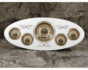 1933 1934 Plymouth Billet Aluminum Gauge Panel Dash Insert Instrument Cluster