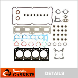 Fits 2001 Chrysler Voyager Dodge Stratus Caravan 2 4l Dohc Head Gasket Set