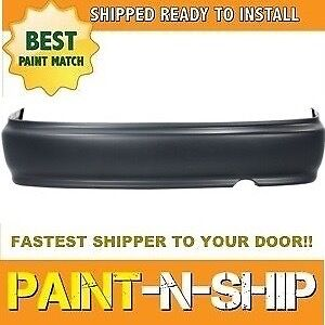 Fits 1999 2000 Honda Civic Coupe Rear Bumper Painted To Match ho1100190