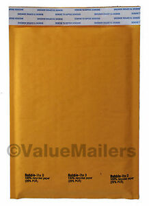 500 00 5x10 Bubble Lite Kraft Bubble Mailers Padded Envelopes Bags