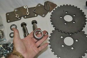 Auto Body Rotisserie Plans Steel Machined Parts Roller Bearing Kit Free Shipping