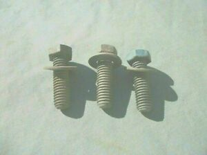 1964 80 Pontiac Oil Filter Mounting Bracket Bolts Washers Used Parts Read Ad