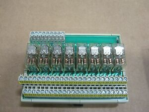 64 Pin Web Relay Board W Relays Input 24vdc Output 250vac dc 5aac dc