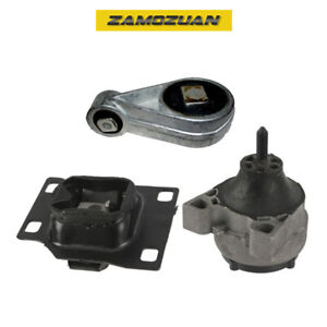 Engine Motor Transmission Mount Set 3pcs 2001 2003 For Ford Focus 2 0l Sohc