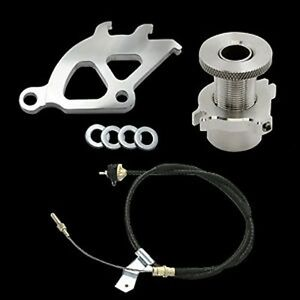 79 95 Ford Mustang Clutch Cable Quadrant New Micro Click Firewall Adjuster 3pc