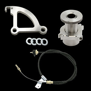 96 04 Ford Mustang Clutch Cable Quick Release Quadrant Firewall Adjust 3pc Kit