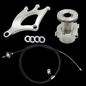 79 95 Ford Mustang Clutch Cable Quadrant Micro Firewall Adjuster 3 Piece Kit
