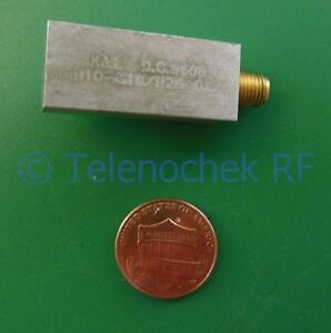 Rf If Microwave Bandpass Filter 309 Mhz 35 Mhz Bw Data