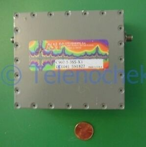 Rf If Microwave Bandpass Filter 902 5 Mhz Cf 6 5 Mhz Bw Power 25 Watt Data
