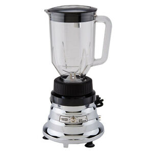 Waring Professional Bar Blender Chrome 48oz Commercial Home Cocktail Mixer