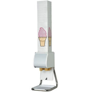 Boxed Ice Cream Cone Dispenser holder Countertop wall