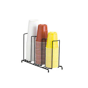 Wr Series Wire Cup Organizer 3 Section Countertop Concession