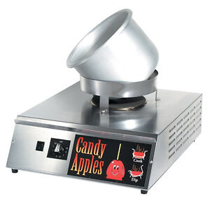Electric Countertop Candy Apple Stove Warmer Heater