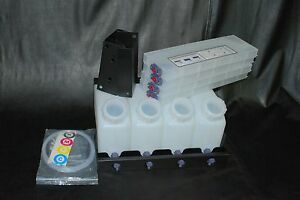 Vertical Bulk Ink System 4x4 For Roland Vs Model Printers Us Fast Shipping