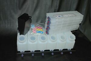 Vertical Bulk Ink System 6x6 For Roland Vs Model Printers Us Fast Shipping