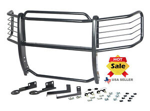 09 14 Ford F150 2x4 2wd Grille Brush Guard Black Bumper Push Bar