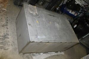 Stainless Steel Job Box 46 By 30 By 18 Heavy Duty