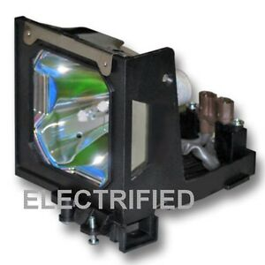 Sanyo 610 305 5602 6103055602 Lamp In Housing For Projector Model Plcxt11