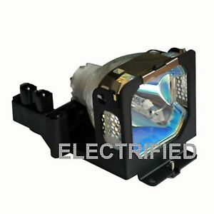 Sanyo 610 307 7925 6103077925 Lamp In Housing For Projector Model Plcxu25a