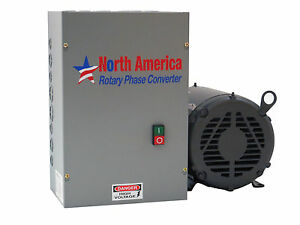 Ul 20 Pro line 20hp Ul Listed Rotary Phase Converter New Made In Usa