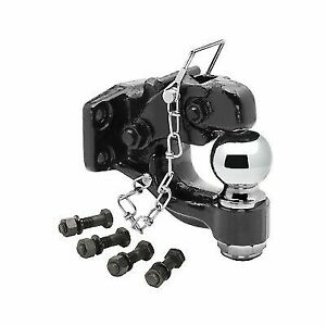 Tow Ready 63012 Receiver Mount Pintle Hook