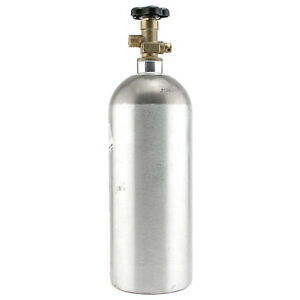 5 Lb Aluminum Co2 Air Tank Keg Bar Kegerator Tap Gas Cylinder Draft Beer Parts
