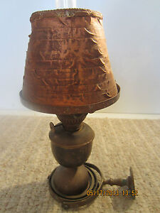 Vintage Brass Ship S Cabin Lantern In Gimble