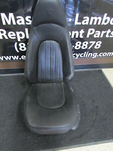 Maserati Coupe Lh Left Front Seat Black Without Tracks Used Power