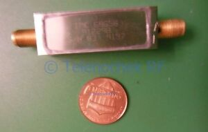 Rf If Microwave Bandpass Filter 3 125 Mhz 4 75 Mhz Bw Data Power 2 Watt Cw