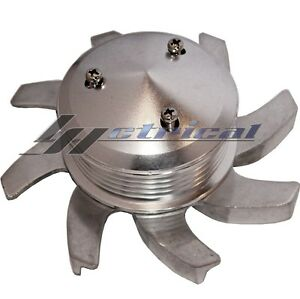Alternator 6 Groove Billet Pulley Fan For Gm Chevy Cady Oldsmobil Pontiac Ford