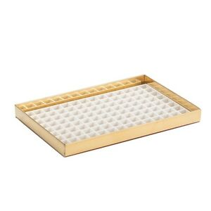 8 1 8 Countertop Drip Tray Brass Finish With Drain Draft Beer Spill Catcher