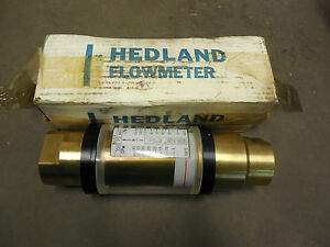 Hedland Water Flow Meter 805040 1 1 4 Npt 9027 3000 Psi Max 40 Gpm 150 Lpm new