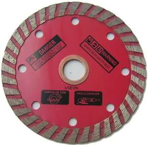 4 Turbo Diamond Blade Fitsangle Grinders With 5 8 Spindle 12 Pack