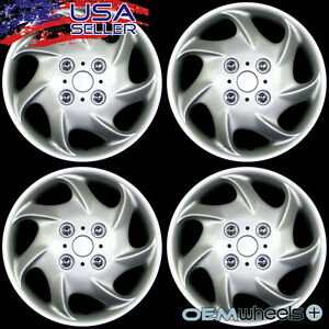 4 New Oem Silver 14 Hub Caps Fits 1993 Current Nissan Altima Wheel Covers Set