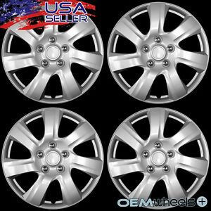4 New Oem Silver 15 Hub Caps Fits 1993 Current Nissan Altima Wheel Covers Set