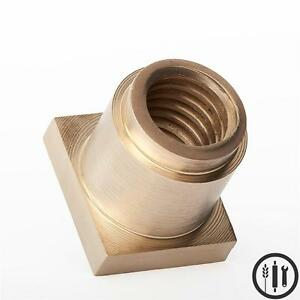 Hobart M802 V1401 Brass Bowl Lift Nut Replaces Hobart Part 68322 80 Qt 140 Qt