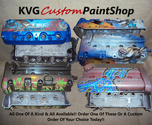 Custom Valve Cover Honda Accord Civic Delsol Prelude 2000s Crx Crv Any Model