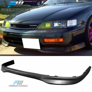 For 94 95 Honda Accord Urethane Front Bumper Lip Spoiler Type R Style