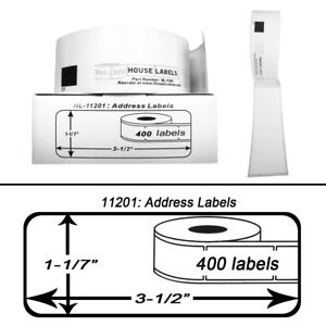 40 Rolls Of Dk 1201 Brother compatible Address Labels bpa Free